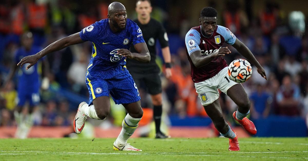 Romelu Lukaku Axel Tuanzebe Chelsea 3-0 Aston Villa