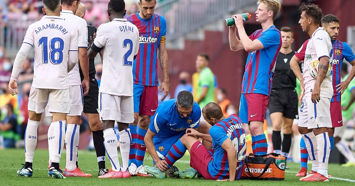 Barcelona forward Martin Braithwaite