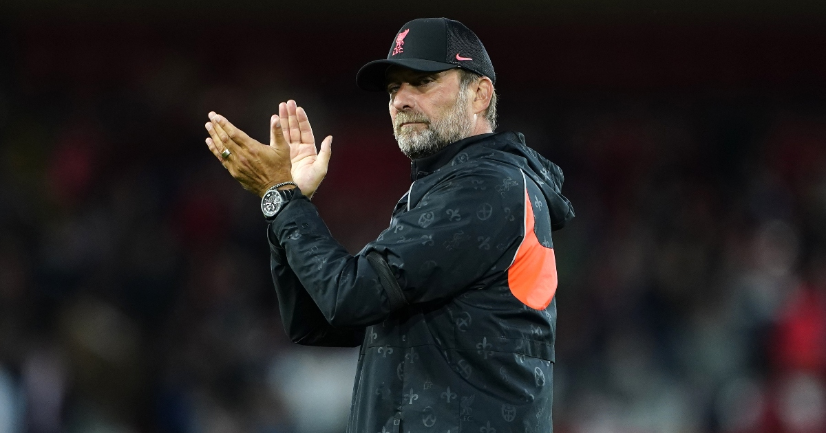 Jurgen Klopp backs 'edgy' Liverpool centre-back amid criticism that doesn't exist
