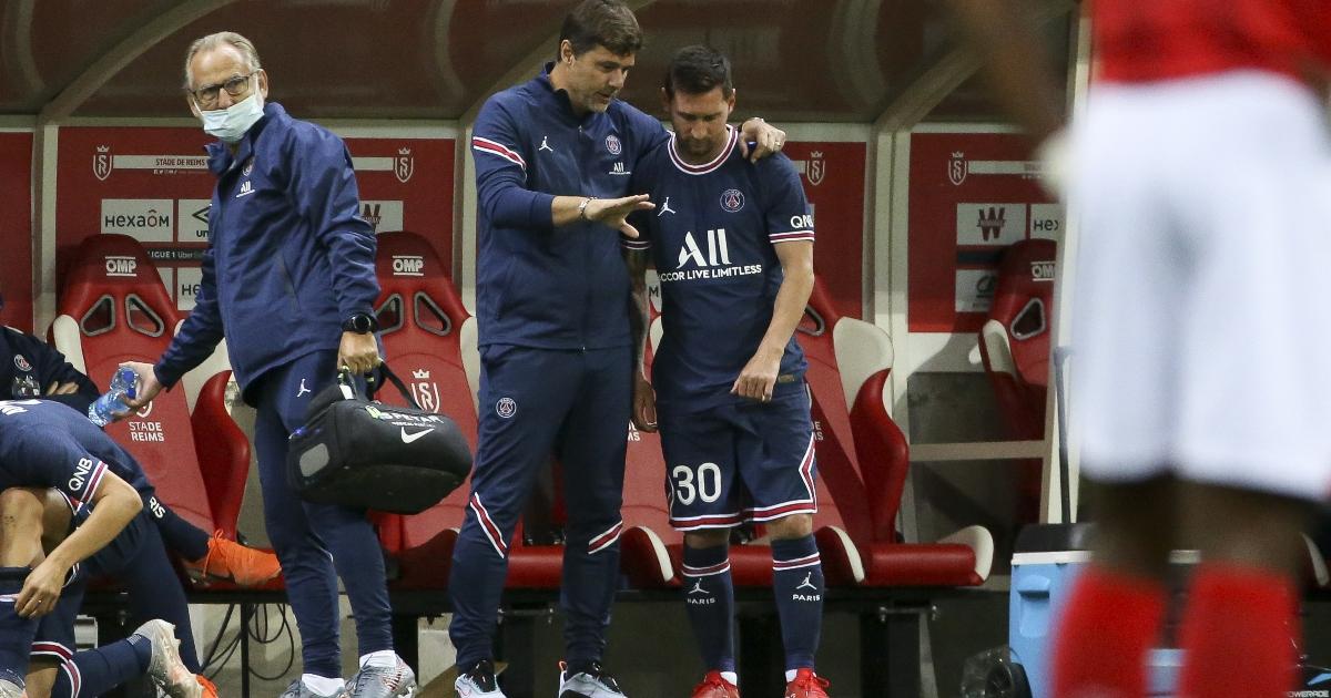 Lionel Messi and Mauricio Pochettino