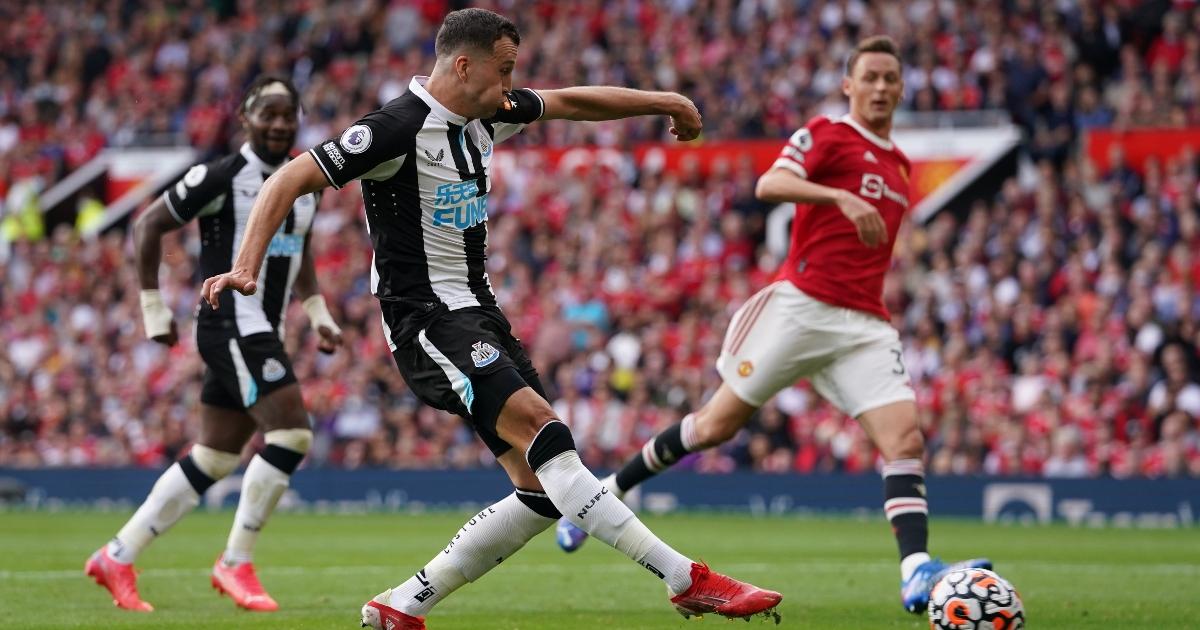 Newcastle United defender Javier Manquillo