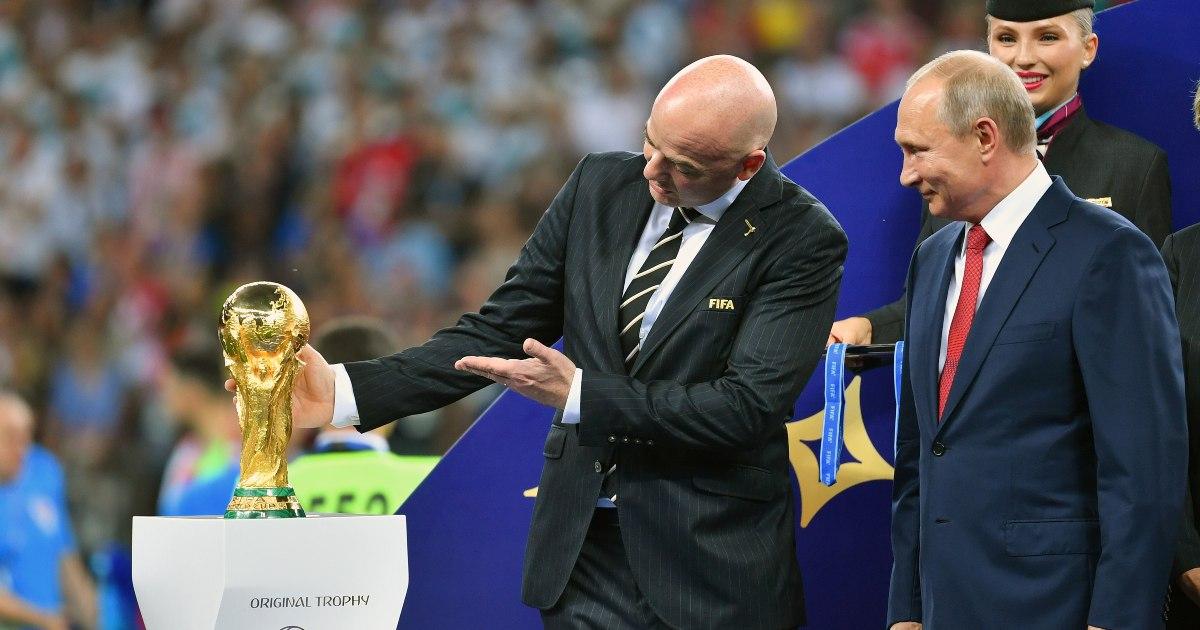 Gianni Infantino World Cup