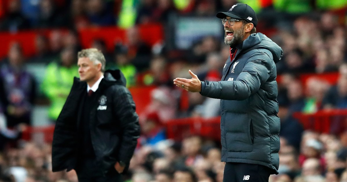 Solskjaer is a world away from the level of Klopp and Pep Guardiola