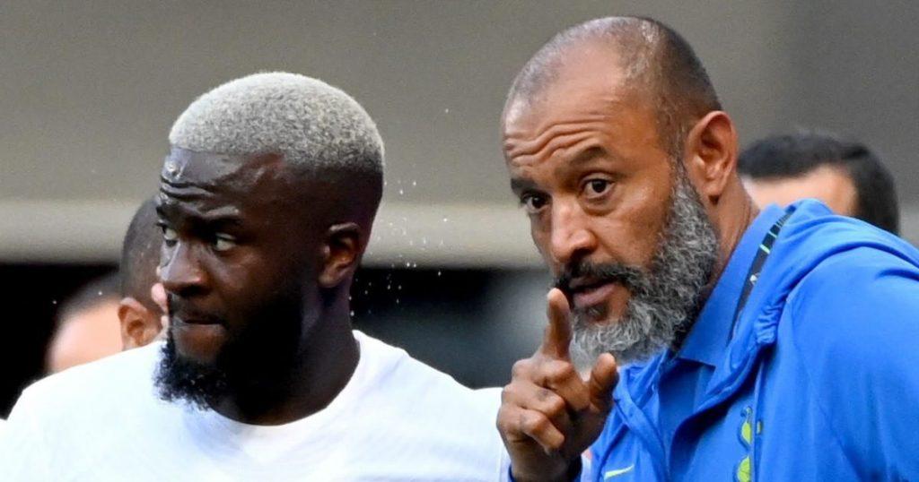 Tanguy Ndombele and Nuno Espirito Santo talk tactics