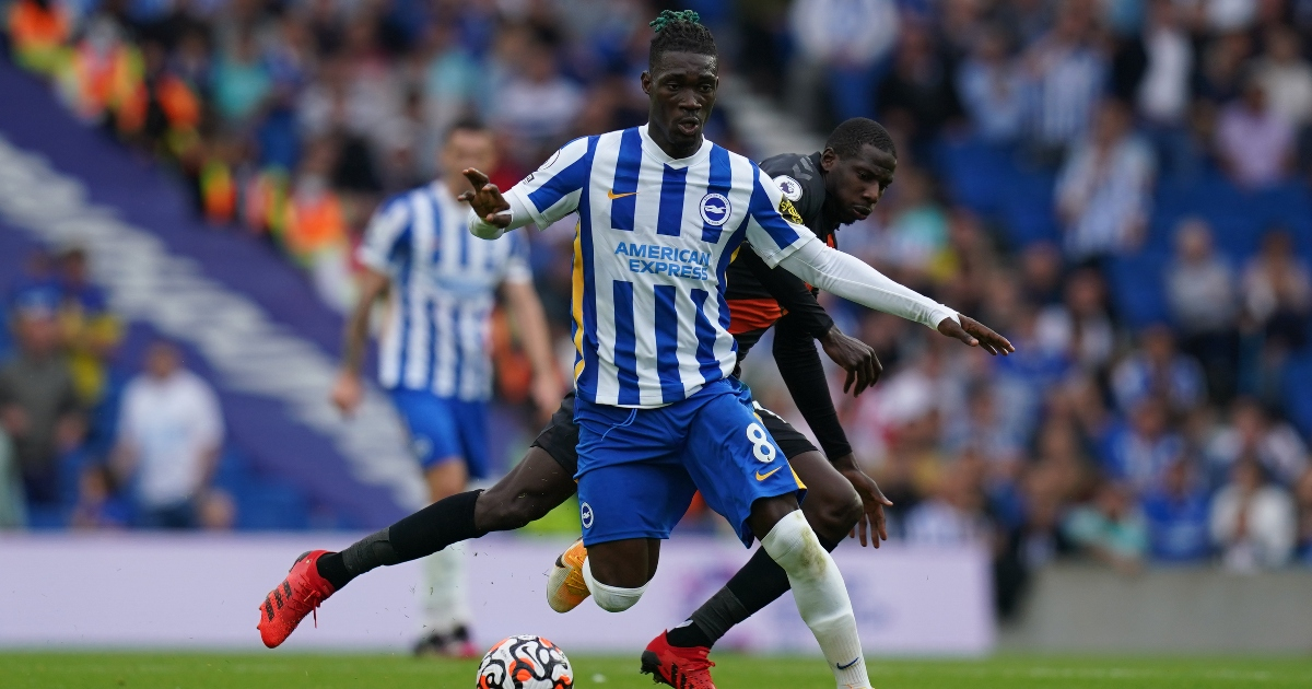 'It's me' - Brighton man gives his verdict on the best midfielder in the Premier League