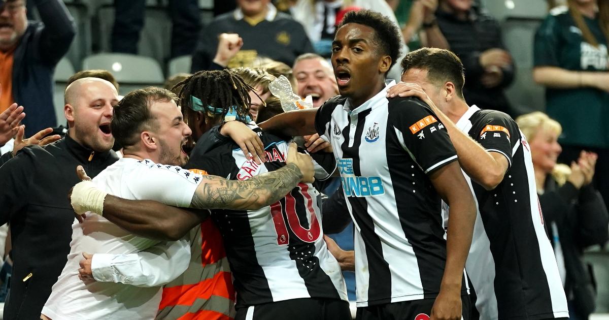 Newcastle winger Allan Saint-Maximin