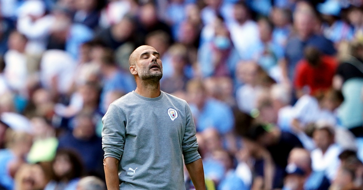 Guardiola says the Etihad atmosphere was 'great, as always' during Saints draw