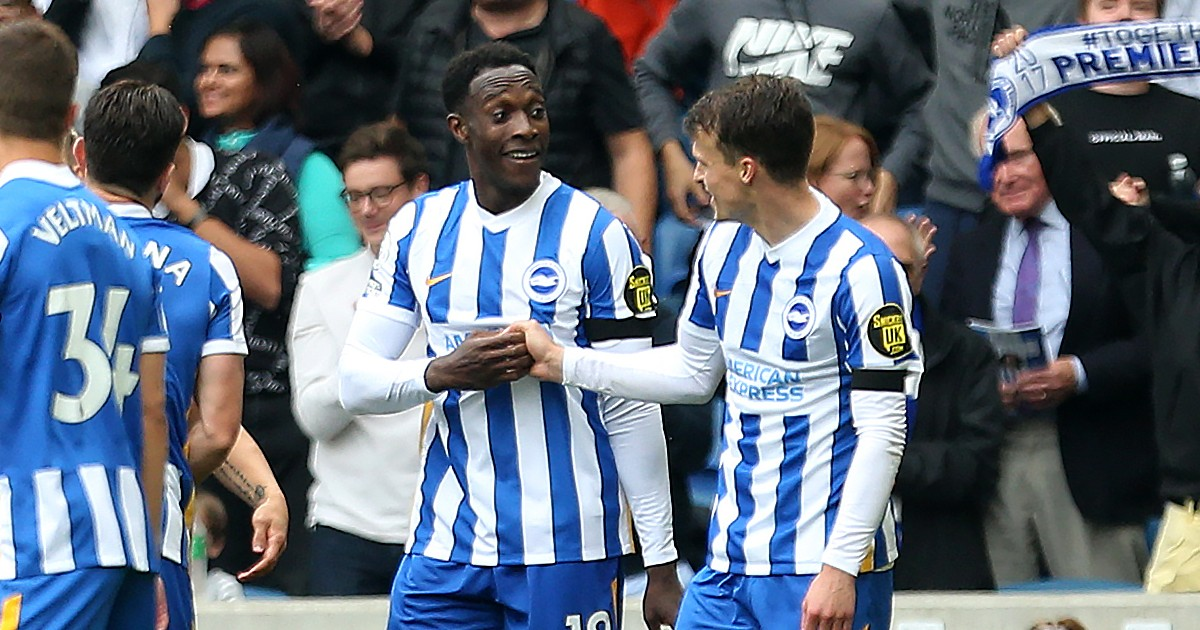 Leicester lose again as Brighton survive two disallowed goals to secure win
