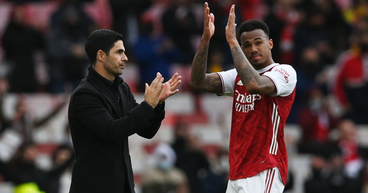 Arteta hails defender with 'incredible future' after Burnley win