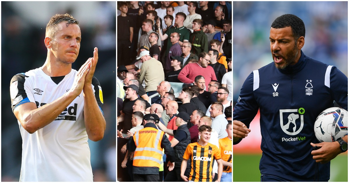 Phil Jagielka, Hull City supporters and Steven Reid
