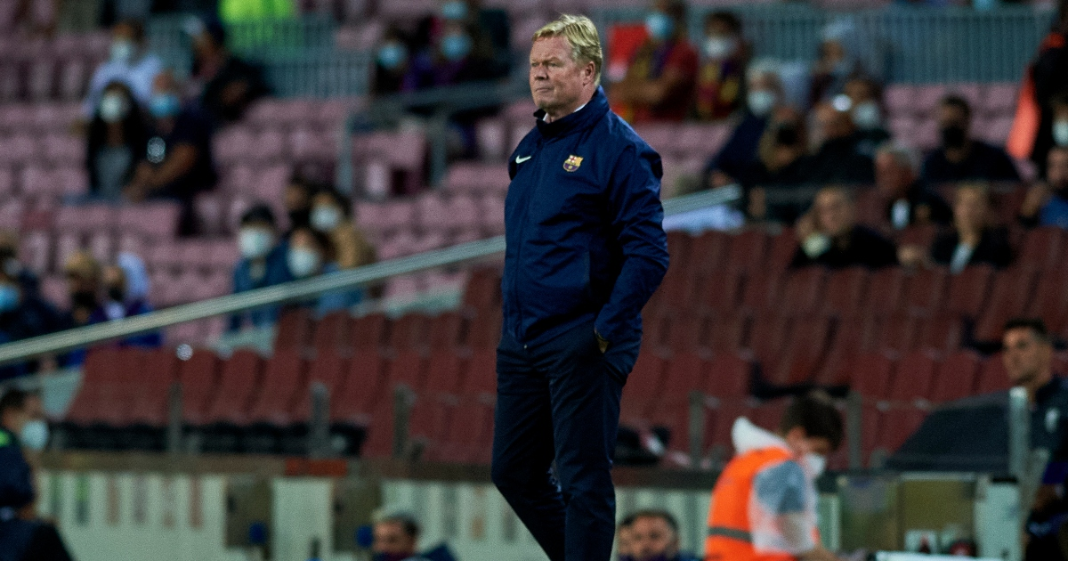 Barcelona are reportedly eyeing up alternatives to under-pressure manager Koeman