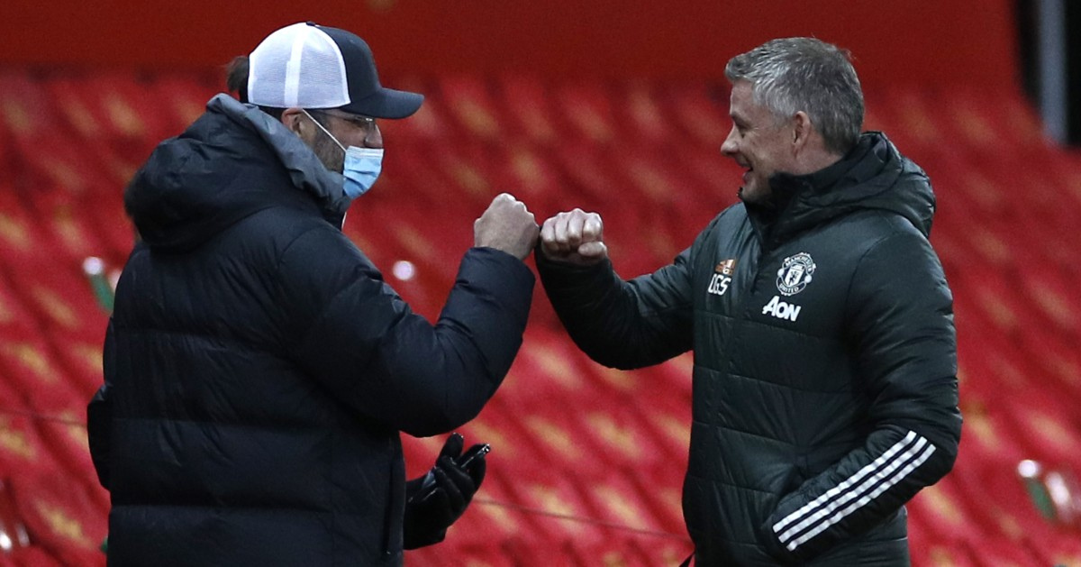 Klopp and Solskjaer show Guardiola that fan charm need not be offensive