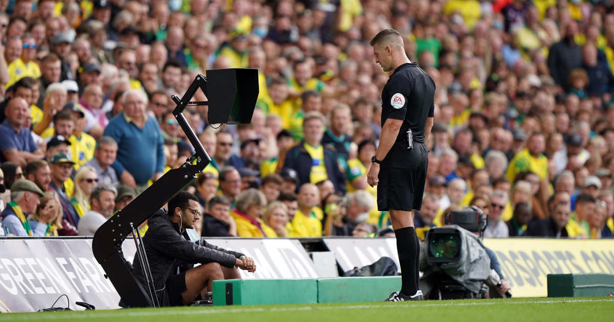 Norwich City VAR check