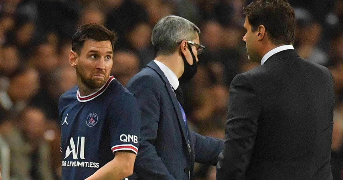 Mauricio Pochettino and Lionel Messi