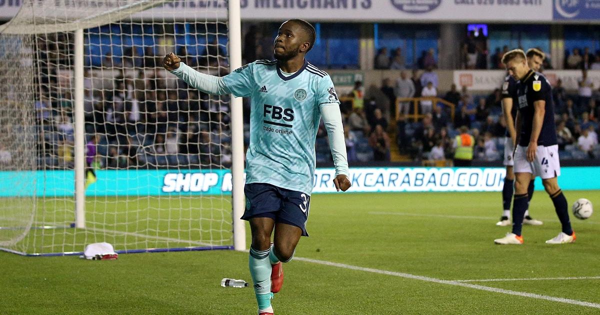 Leicester winger Ademola Lookman