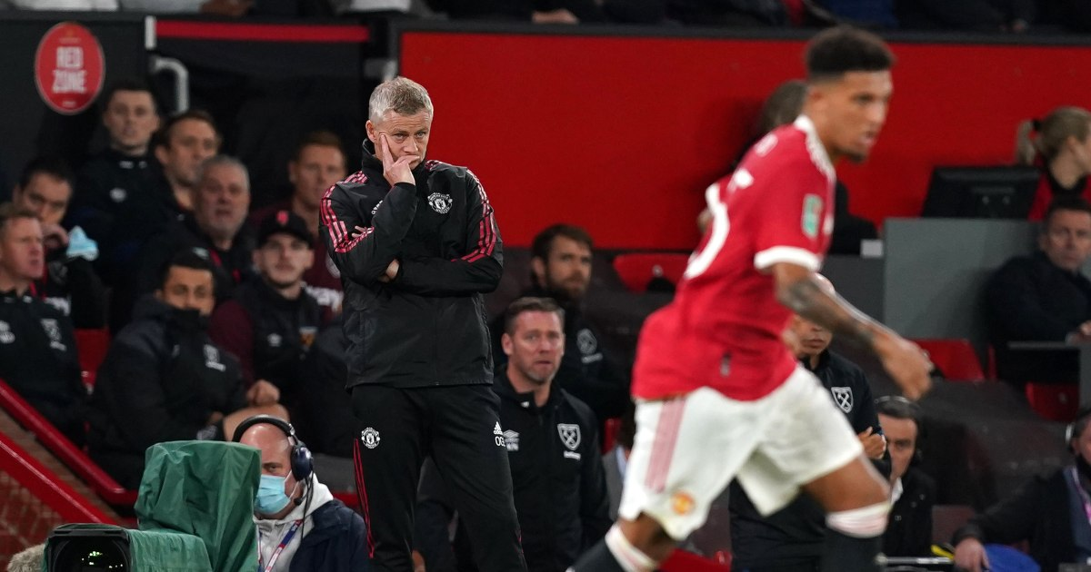 If only Ole Gunnar Solskjaer could do something to help Manchester United