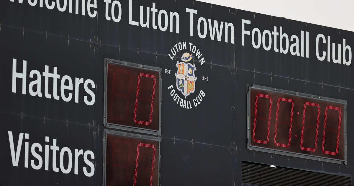 Luton Town scoreboard