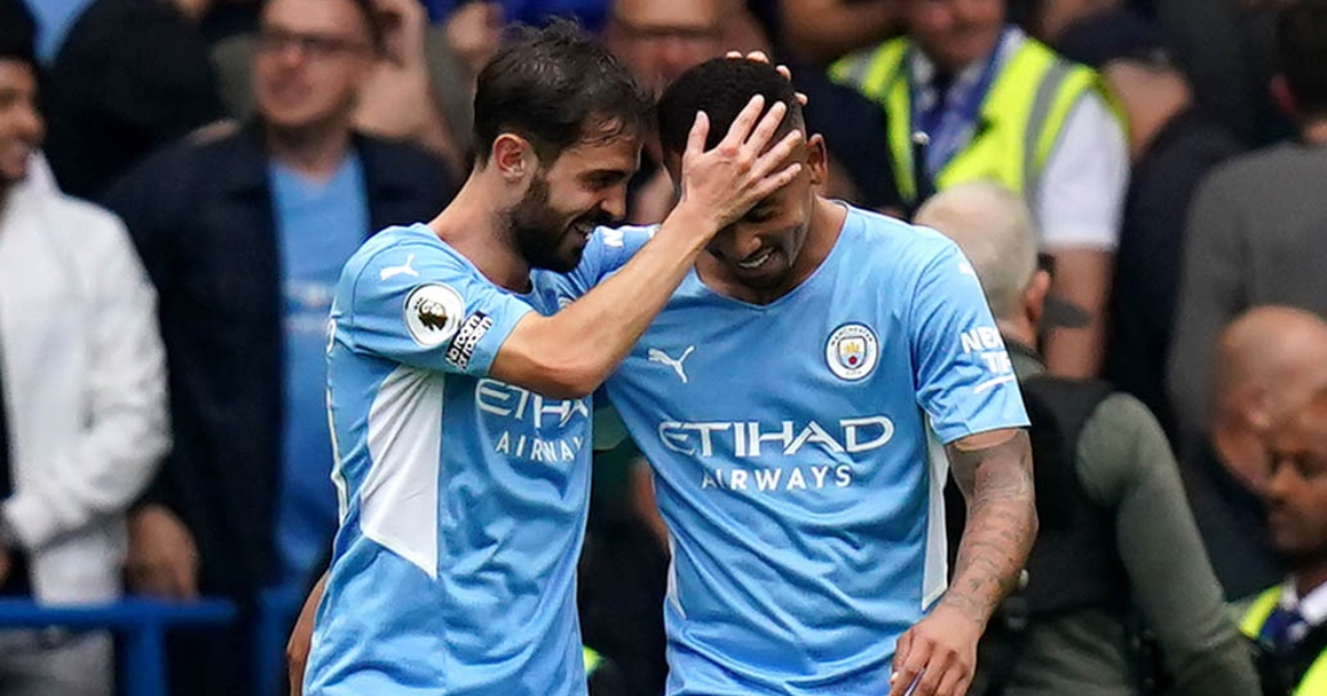 Chelsea 0-1 Man City: Jesus downs Tuchel's men