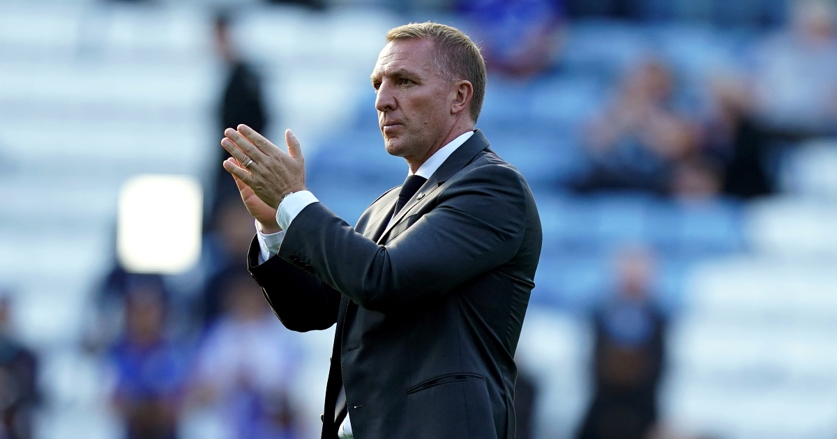 Brendan Rodgers Leicester