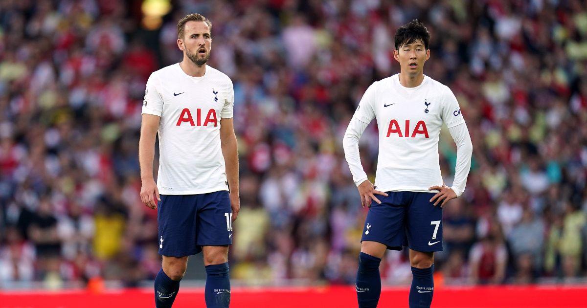 Harry Kane Son Heung-min Spurs