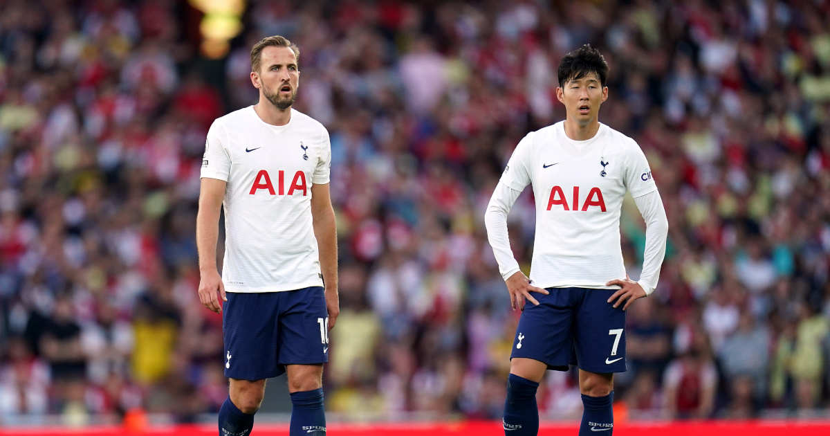 Tottenham Harry Kane Son Heung Min