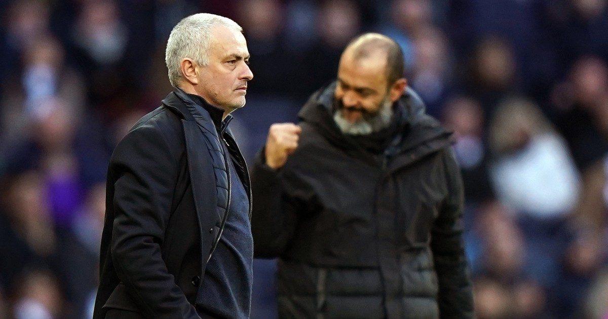 Jose Mourinho and Nuno Espirito Santo