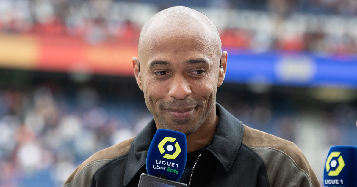 Thierry Henry hopes Daniel Ek can takeover Arsenal