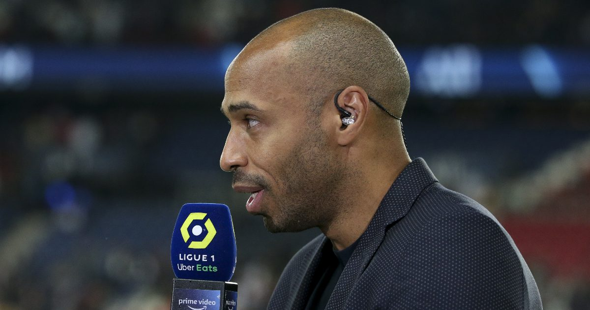 Thierry Henry has praised Bukayo Saka and Emile Smith Rowe