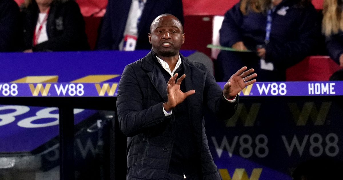 Vieira: Crystal Palace conceding late on is 'difficult to accept'
