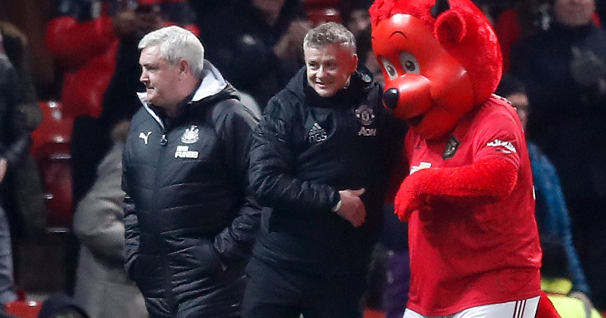 Steve Bruce and Ole Gunnar Solskjaer prepare for Manchester United's clash with Newcastle.