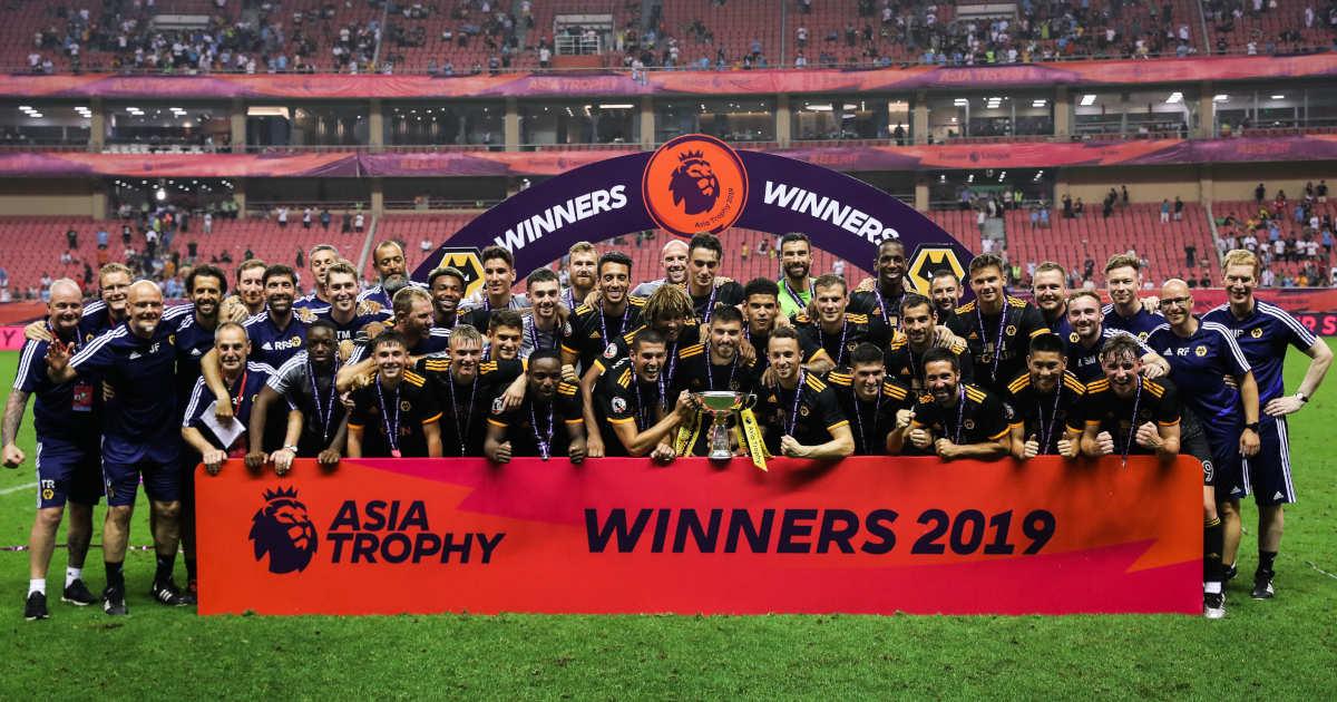 Premier League Asia Trophy Winners Wolverhampton Wanderers