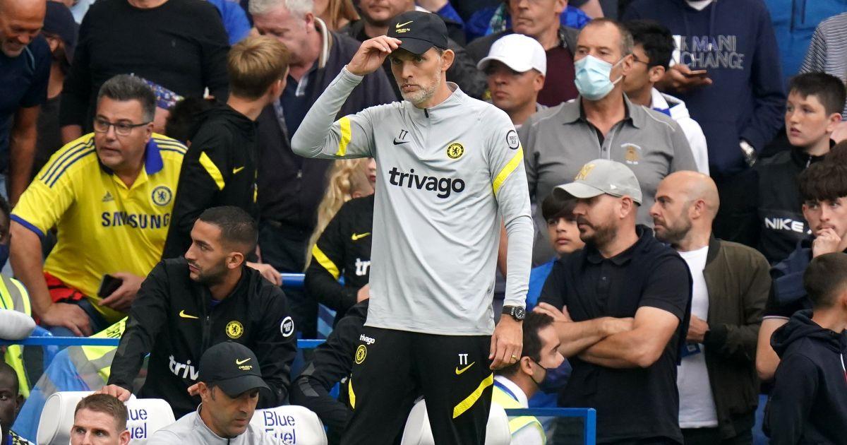 Chelsea boss Thomas Tuchel watches his side