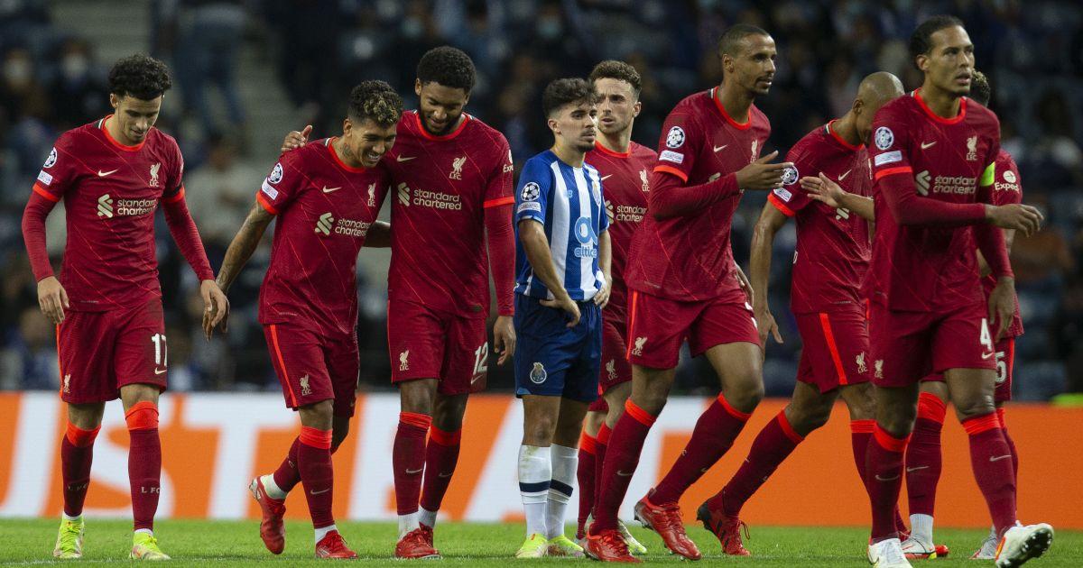 Liverpool striker Roberto Firmino celebrates