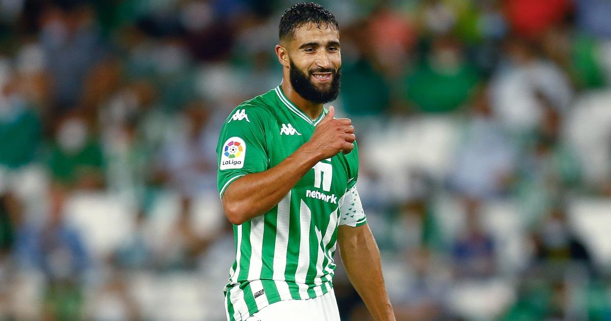 Nabil Fekir in action for Real Betis.