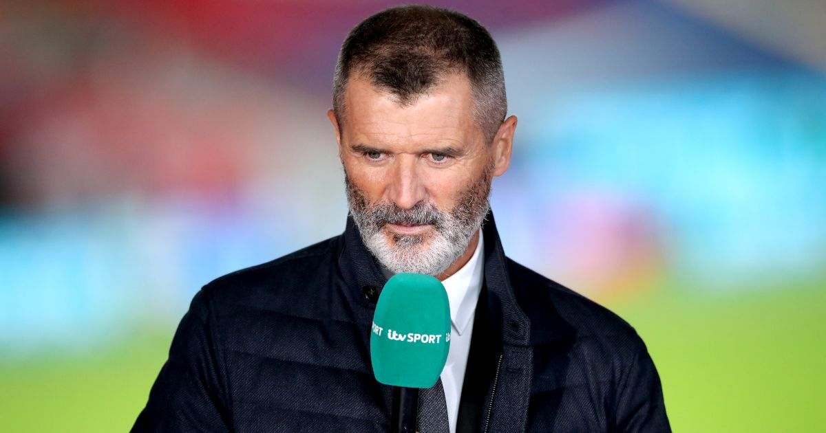 Roy Keane in his role as a pundit