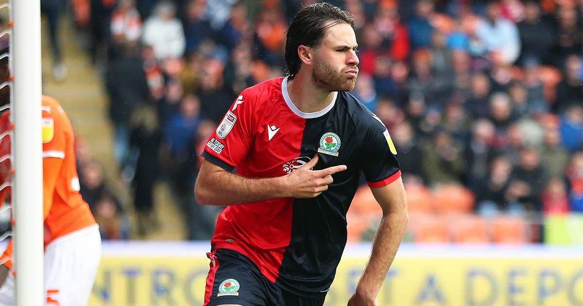 Blackburn striker Ben Brereton-Diaz
