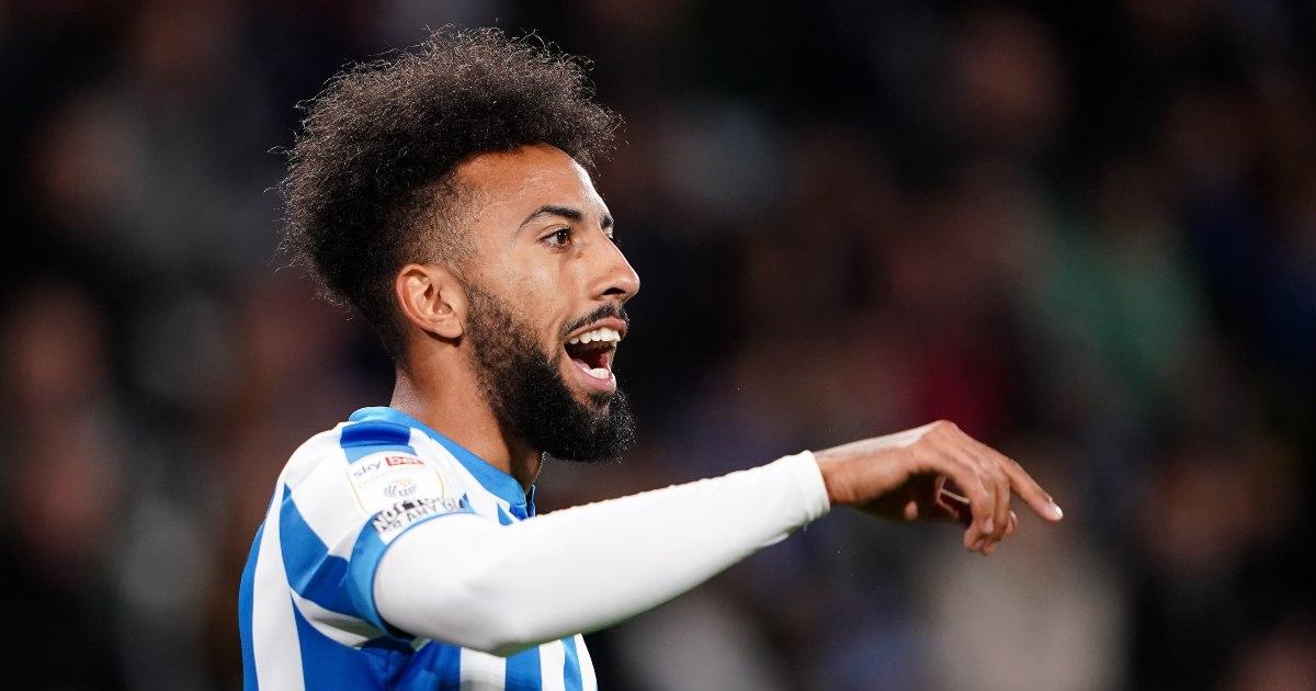 Huddersfield Town winger Sorba Thomas