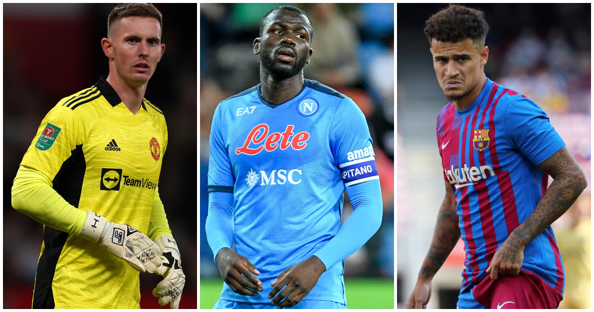Dean Henderson, Kalidou Koulibaly and Philippe Coutinho could all be targeted by Newcastle.