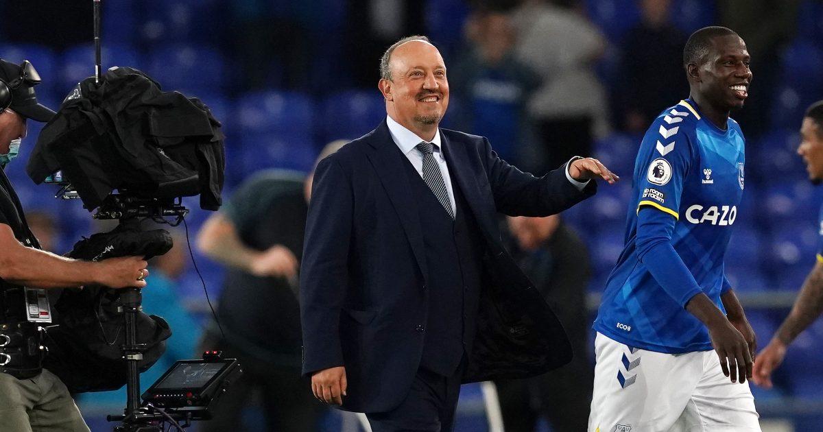 Everton boss Rafael Benitez