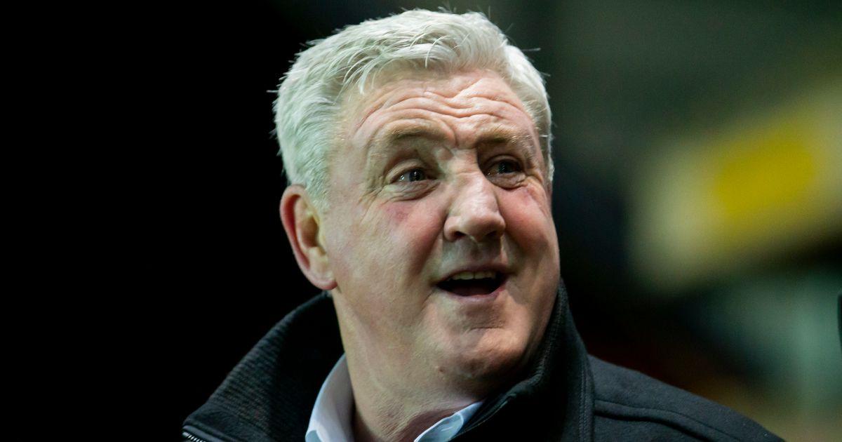 Newcastle boss Steve Bruce smiles