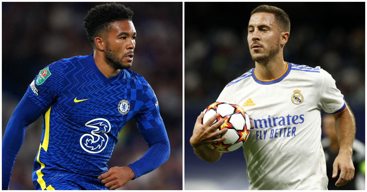 Chelsea could sign Eden Hazard in exchange for Reece James.