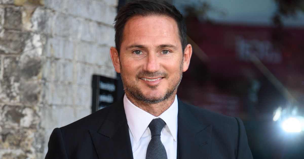 Newcastle-linked manager Frank Lampard poses