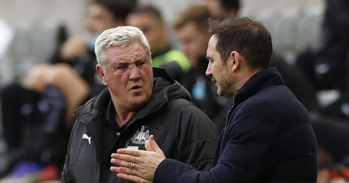 Steve Bruce and Frank Lampard