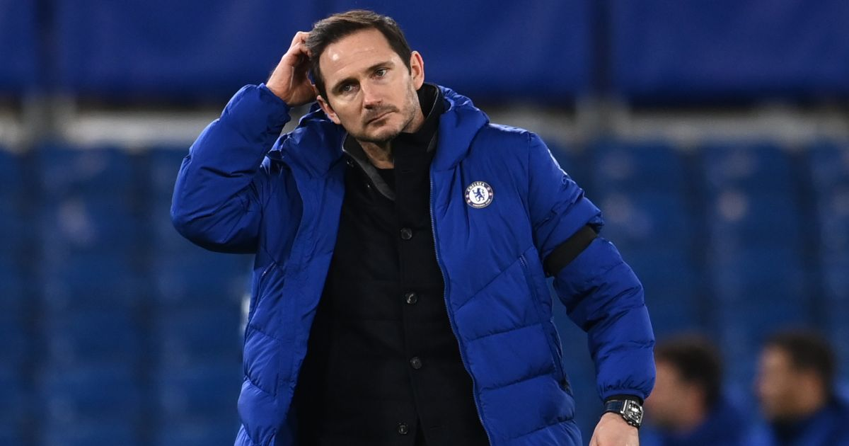 Newcastle-linked Frank Lampard scratches his head