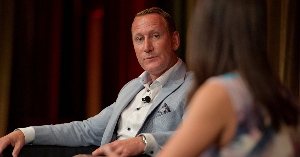 Arsenal legend Ray Parlour during an interview
