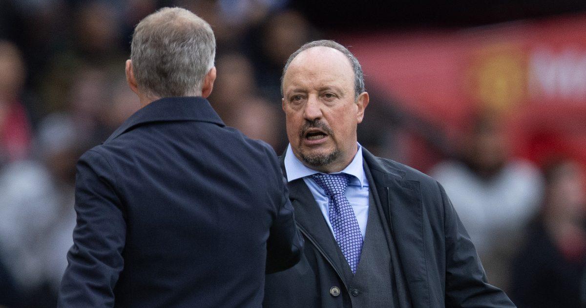 Everton head coach Rafael Benitez