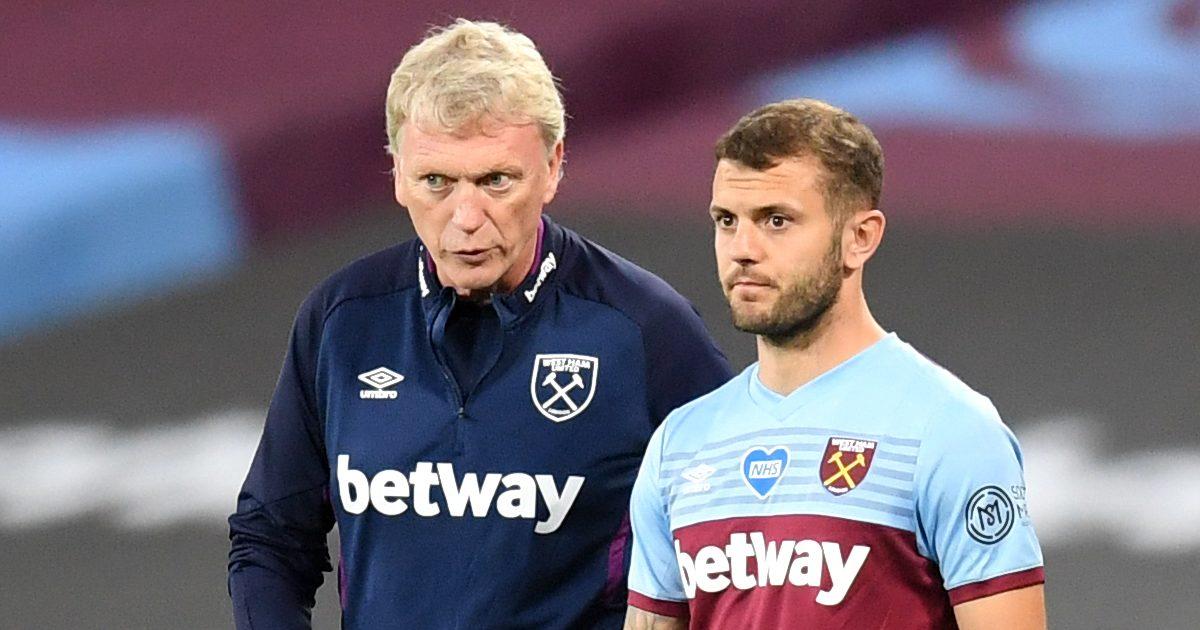 Wilshere alongside West Ham boss Moyes