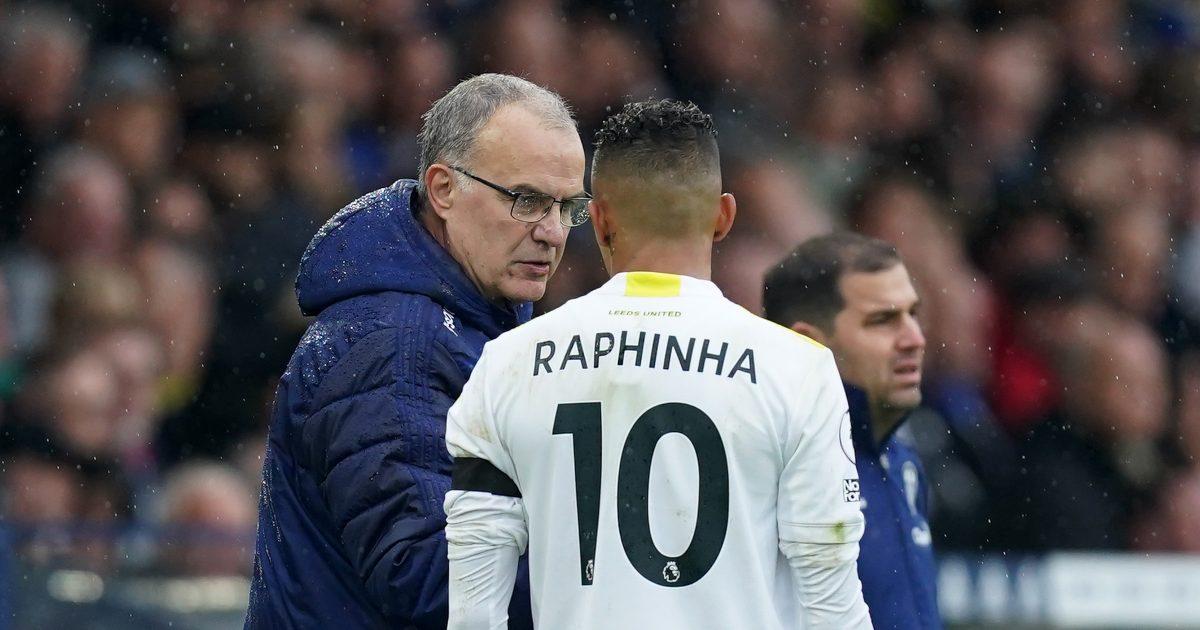 Leeds attacker Raphinha