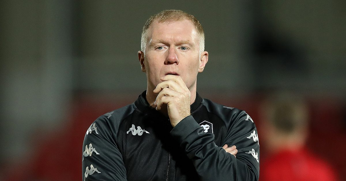 Scholes 'not convinced' Premier League outfit have 'enough' to win the title this season