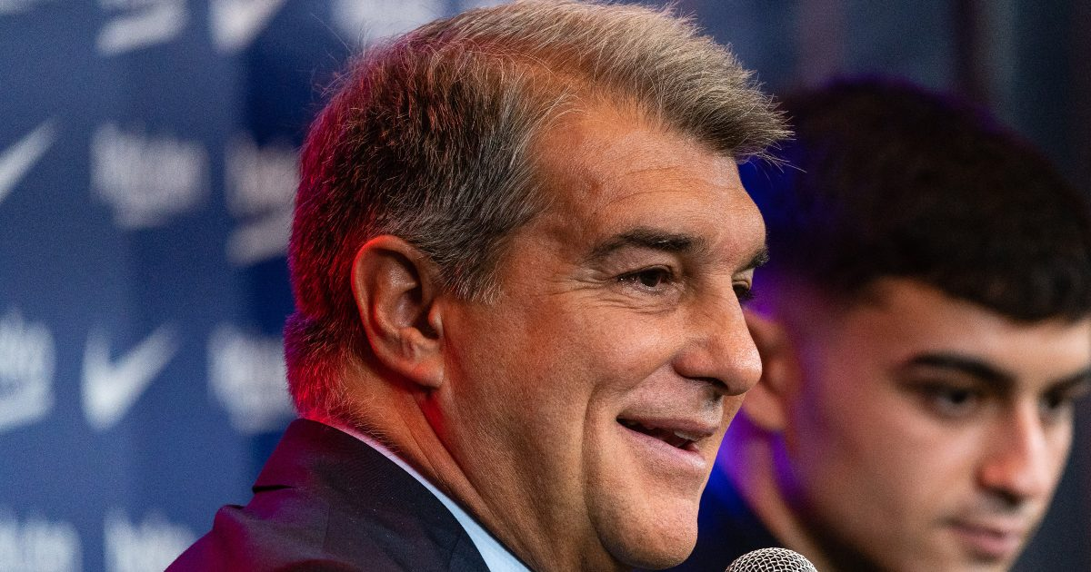 Barcelona president Joan Laporta claims that the European Super League is 'alive and open'